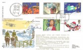 1981 Christmas, RFDC No. 8 Special FDC, First Day of Issue Bethlehem Llandeilo Dyfed H/S, Signed.