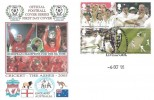 2005 Cricket, The Ashes Liverpool European Champions, Dawn Official Football FDC, Liverpool FC 5 times European Champions H/S