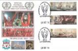 2005 Trafalgar Liverpool 5 Times European Champions, Dawn Football FDC