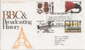 1972 BBC & Marconi Post Office FDC Royal Engineers Army Wireless BF1326PS H/S. Scarce