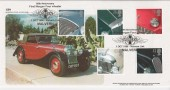 1996 Classic Cars, GBFDC GB4 Morgan Four Wheeler Malvern Official FDC