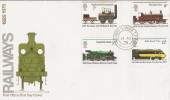 1975 Stockton & Darlington Railway PO FDC Norwich - London TPO, Scarce