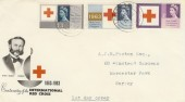 1963 Red Cross Ordinary Set, Illustrated FDC, London SW1 Double Ring cds