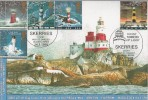 1998 Lighthouse, GBFDC GB12 Skerries Official FDC, Those Towers of Light Skerries Court Langley Slough Berks. H/S.