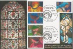 1998 Christmas, GBFDC GB18 Angels Official FDC, Angel Lane London E15 H/S