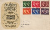 1940 Postage Stamp Centenary, Royal Philatelic Society's Centenary Exhibition FDC, Stamp Centenary Exhibition (Red Cross) London H/S