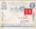 1940 Postage Stamp Centenary, 1d used on 1890 Penny Post Jubilee Envelope