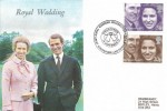 1973 Royal Wedding, Wessex FDC, Royal Wedding Celebrations Great Somerford H/S