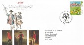 1994 Golf, Honorable Company of Edinburgh Golfers Official FDC, 25p Muirfield stamp only.