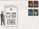 1989 Anniversaries Greetings from Tintagel Old Post Office Special FDC