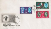 1962 National Productivity Year, Ordinary Set Jersey Channel Islands cds
