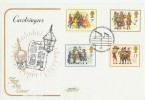 1978 Christmas Cotswold FDC,First Day of Issue Philatelic Bureau H/S