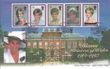 1998 Diana Princess of Wales, Westminster Official FDC, Kensington Palace W8 H/S