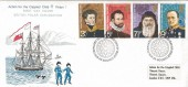 1972 Polar Explorers, Action for the Crippled Child, Philart FDC, London WC H/S