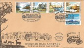 1981 National Trust, Markton Stamps Official, Holkham Hall FDC