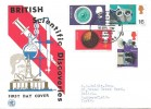 1967 British Discoveries, Wessex FDC, Penicillin Sir Alexander Fleming WC2 H/S