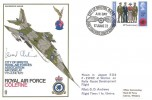 1972 City of Bristol RAF Association, Air Display RAF Colerne Cover. Signed by Leonard Cheshire