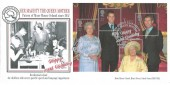 2000 Queen Mother, Moor House School Hurst Green Oxted, BHC Official FDC