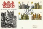 1978 Historic Buildings Benham Engraved Hampton Court FDC