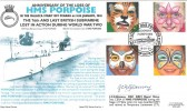 2001 The Future, HMS Porpoise Gosport, Royal Navy Cover Group Official FDC. Signed