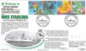 2001 The Weather, HMS  Starling, Captain Walker, Liverpool Royal Navy Cover Group Official FDC. Signed.