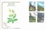 1979 British Flowers Cotswold FDC, dated 1978, One Year Early!