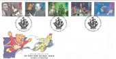 1996 Children's TV Royal Mail FDC, Blue Peter, Shepherds Bush London W12 H/S