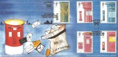 2002 Pillar to Post, Bletchley Park, Secret Postbox 111, Official FDC