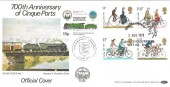 1978 Cycling Centenary,  700th Anniversary of the Cinque Ports, RHDR 7 Official FDC