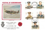 1986 Royal Air Force, British Legion Festival of Remembrance, Royal Albert Hall FDC
