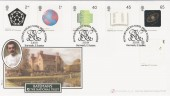 2001 Nobel Prizes, National Trust Bateman's Rudyard Kipling, Buckingham Official FDC