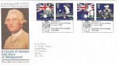 1988 Australian Bicentenary, Wedgwood Barlaston, Stoke on Trent FDC