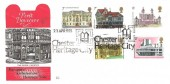 1975 Architecture, Benham Engraved FDC, Chester Heritage City H/S