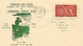 1957 Scout Jubilee Jamboree, Wimbledon Boy Scouts FDC
