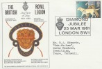1981 Year of the Disabled, British Legion Diamond Jubilee London SW1 Official FDC