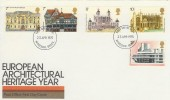 1975 European Architectural Heritage Year, Post Office FDC, Windsor FDI