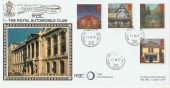 1997 Post Offices Benham FDC Royal Automobile Club (RAC) Centenary Year, Royal Automobile Club SW1 cds