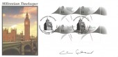 1999 Millennium Timekeeper Miniature Sheet, Steven Scott Official FDC, Signed by Lord Falconer of Thoroton QC