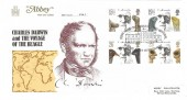 1982 Charles Darwin, Abbey FDC, Down House Charles Darwin Memorial Downe Orpington Kent H/S