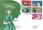 1970 General Anniversaries, 150th Anniversary of Florence Nightingale Official FDC,  Florence Nightingale Exhibition London SE1 H/S