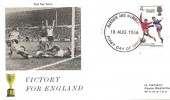 1966 England World Cup Winner, German H. Hamann FDC, Harrow & Wembley FDI