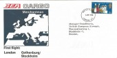 1970 General Anniversaries, BEA Cargo First Flight London Gothenburg Stockholm FDC, London EC FDI.