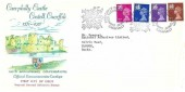 1971 Welsh Regionals, 700th Anniversary Celebrations Caerphilly Castle FDC, First Day of Issue Caerphilly H/S.