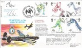 1991 Dinosaurs, Farewell to the Shackleton RFDC 96 Official FDC, Signed
