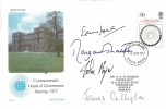 1977 Commonwealth Heads of Government Meeting, Signed by 4 Prime Minsters