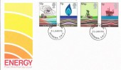 1978 Energy, Post Office FDC, Battersea SW11 FDI
