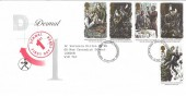 1993 Sherlock Holmes, Dermal Laboratories FDC, Coventry & Warwickshire FDI