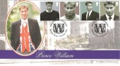 2003 Prince William, Bradbury Sovereign Series Cover No.31 Official FDC, Birthday Celebrations, Windsor Berkshire H/S.