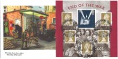 2005 End of the War Miniature Sheet, Bletchley Park Official FDC