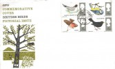 1966 British Birds GPO FDC, HEATHFIELD Hounslow cds. Scarce.